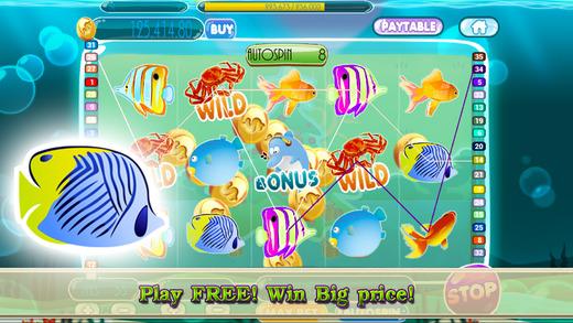 `` AAA Amazing Fish Slots PRO - Fishing in Las Vegas casino to catch big bonus