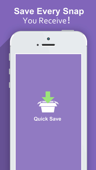 Quick Save Pro - for Snapchat the best way to save all your snaps and screenshot