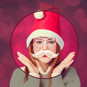 Santafy Yourself - Make Me Santa Claus HD Photo Booth & Generator for Simple Meme 娛樂 App LOGO-硬是要APP