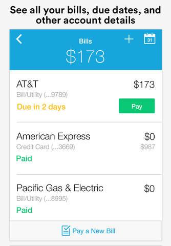 Screenshot 2 Mint Bills & Money