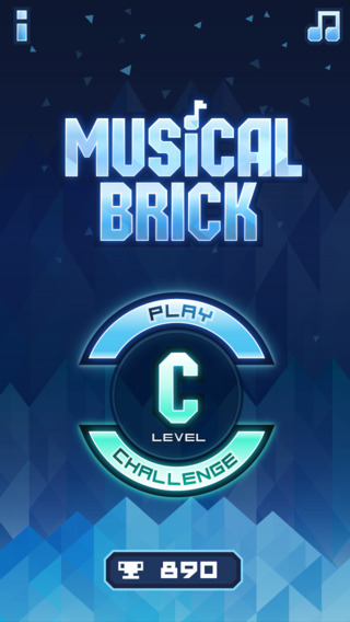 Musical Brick - tap the piano tiles test your hand eye reflex