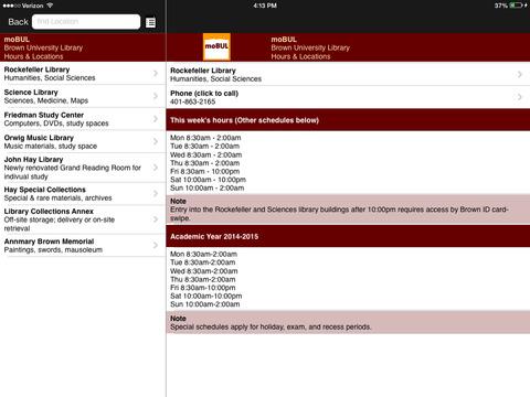 moBUL Brown Library iPad Screenshot 4