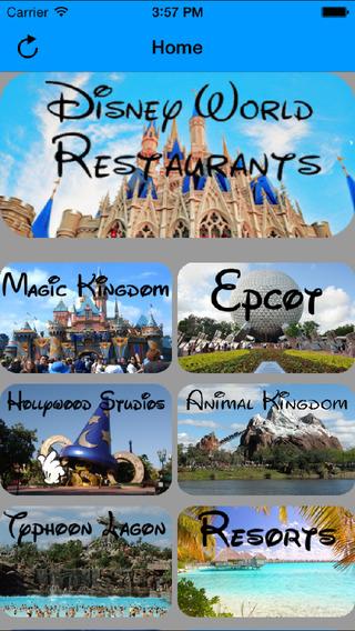 Disney World Restaurant Guide