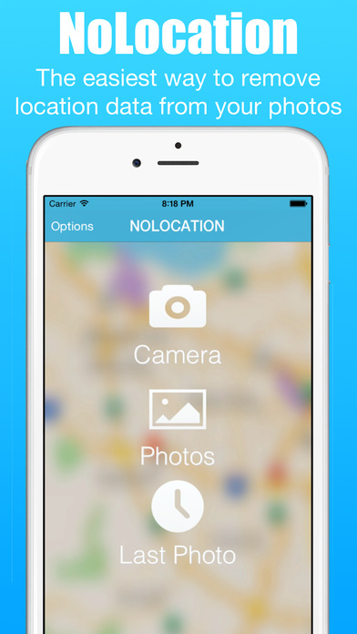 NoLocation - Remove exif data from photos 앱스토어 스크린샷