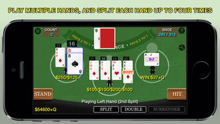 Screenshot 1 Blackjack 21 Pro HD — Multi-Hand (Vegas Casino Fun)
