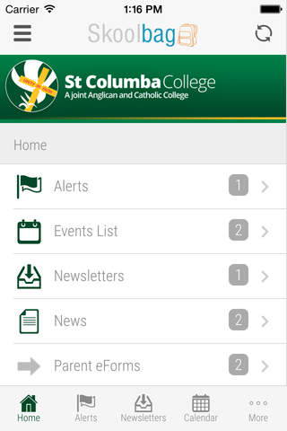 St Columba College - Skoolbag screenshot 3