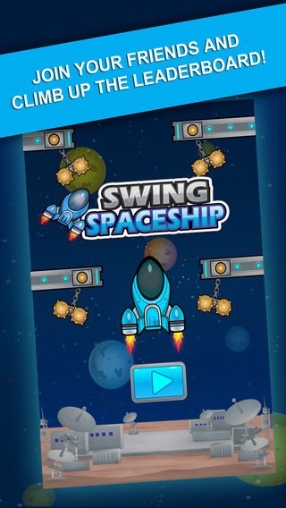 Swing Spaceship - Fly to Extreme Height