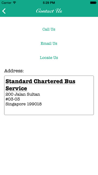 Standard Chartered Bus Services