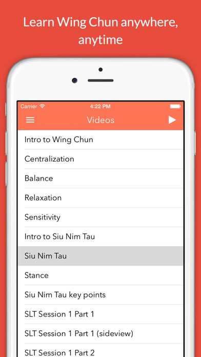 iWingChun SLT Part 3/6 iPhone Screenshot 2