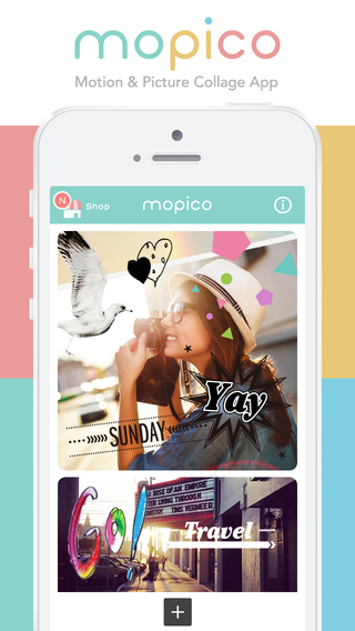 mopico - Motion Picture Collage App