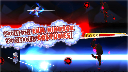 Kosunin: Costume Ninja Dash Screenshot