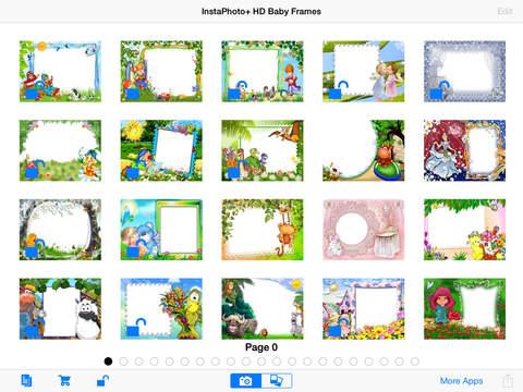 InstaPhoto+ HD Baby Frames