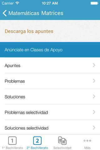 Clases de Apoyo screenshot 3