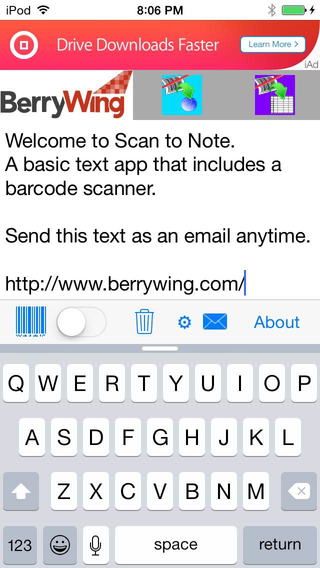 Scan to Note