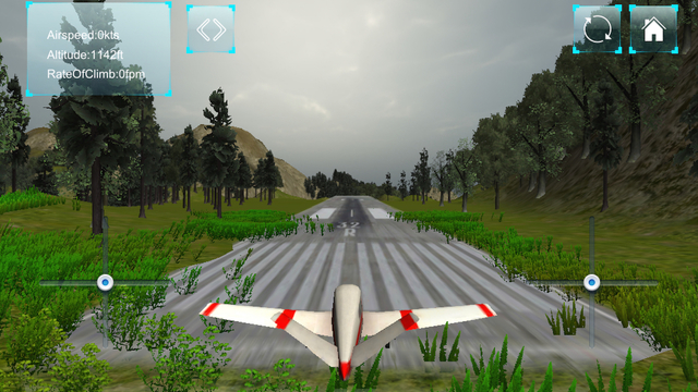 Flight Simulator Sports Racer Edition - Airplane Pilot Learn to Fly Sim