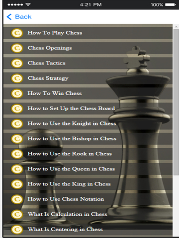 Chess Tactics - Learn The Winning Chess Strategy Скриншоты7