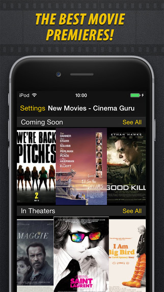 New Movies - Cinema Guru PRO