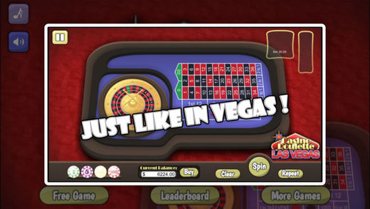 Casino Roulette Las Vegas for Free