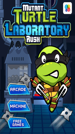 Mutant Turtle Laboratory Rush