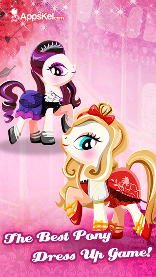 High Fashion Pet Dress Up – For-Ever After Games for My Little Pony