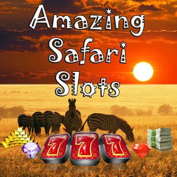 Amazing Africa Safari Slots LOGO-APP點子