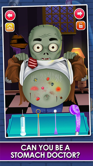 Stomach Injury Doctor Hospital - little surgery salon kids games for boys