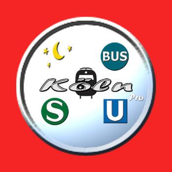 Köln Public Transport Pro 旅遊 App LOGO-APP試玩
