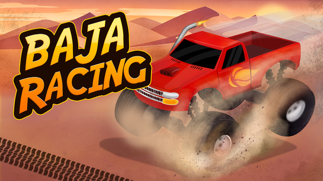 Baja Racing Climb On Hill - Extreme road trip ATV game for kids Adults