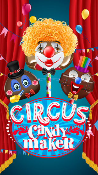 Circus Candy Maker - A Cotton-Candy Dessert Bakery for iPhone