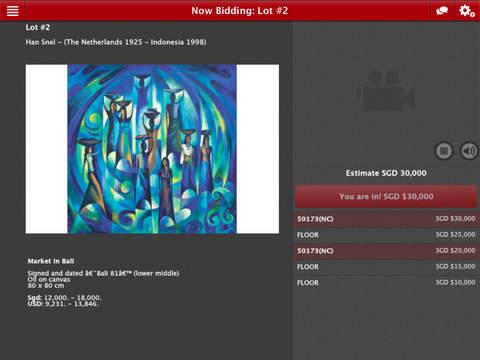 Borobudur Bidding App