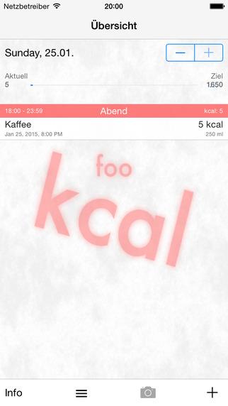 Foo-kcal