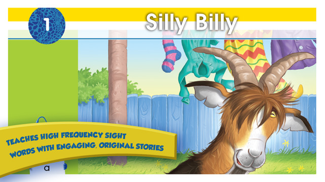 Bud-e Reading - Silly Billy Talking App