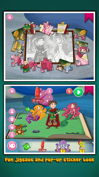 小美人鱼:The Little Mermaid ~ 3D Interactive Pop-up Book