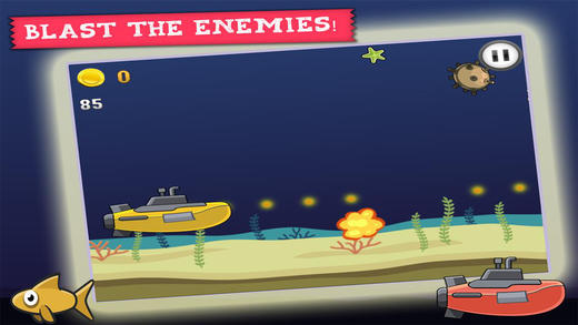 Shark Shooter Attack - Undersea War Battle Free