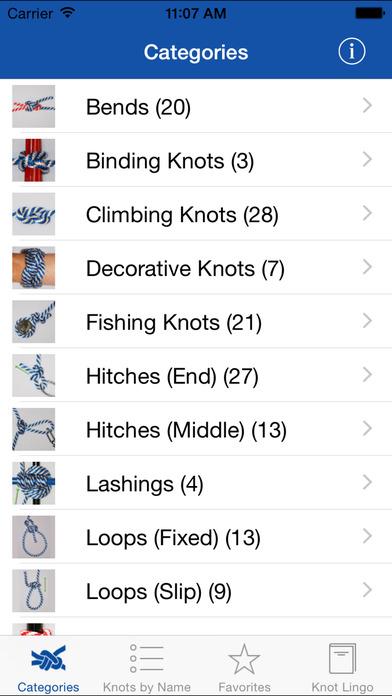 Knot Guide (100+ knots) screenshot