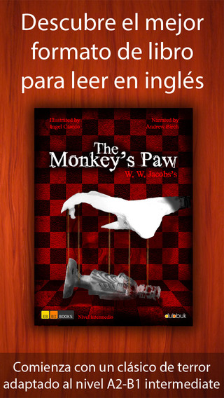 Lee en inglés: The Monkey's Paw - un clásico de terror en eBBi Book