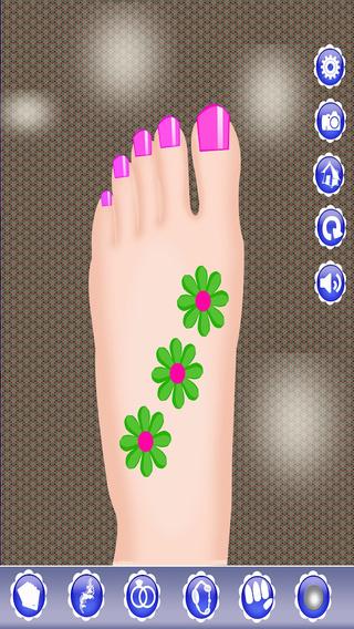 Princess Toe Nail Salon-Girls