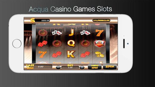 Acqua Casino Games Slots