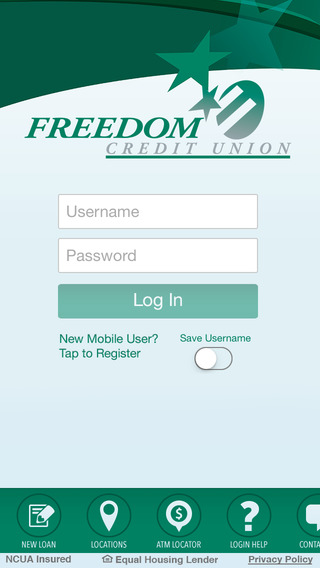 Freedom Credit Union Mobile Banking PA