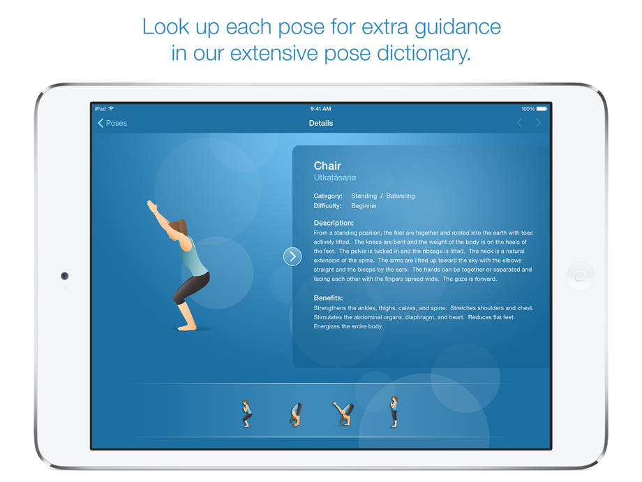 Pocket Yoga - iPhone Mobile Analytics and App Store Data