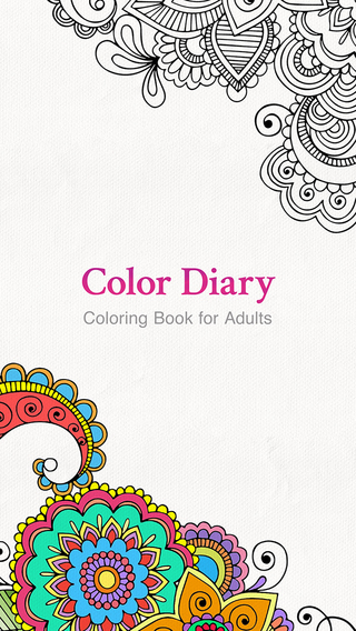 ColorDiary: Secret Garden Coloring Book for Adults