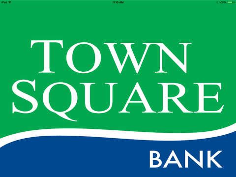 Town Square Bank Optimized for the iPad