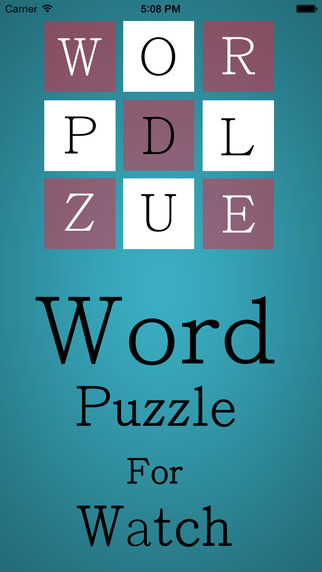 Word Puzzle For Watch