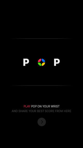 Pop my watch