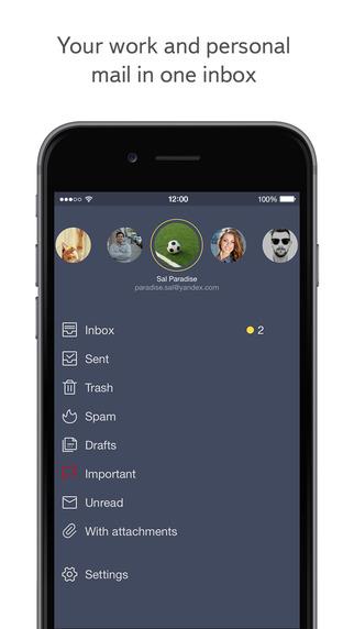 【免費生產應用App】Yandex.Mail-APP點子