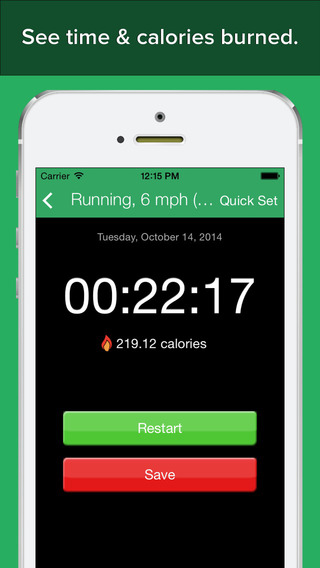 FitCommit - Fitness Tracker and Timer iPhone Screenshot 3