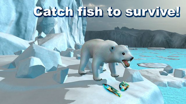 Polar Bear Survival Simulator 3D Screenshots