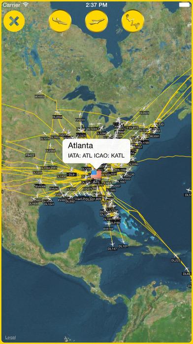 iPlane Radar™ iPhone Screenshot 2