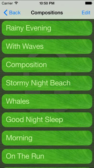 Sounds Of Nature iPhone Screenshot 2