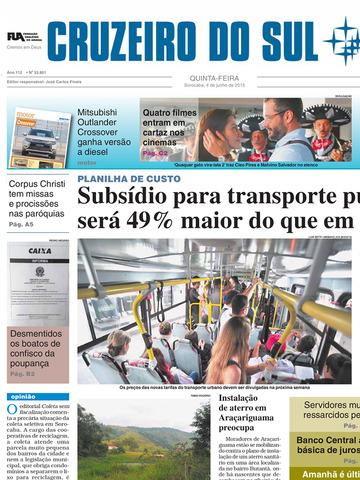 Jornal Cruzeiro do Sul Digital-ipad-0